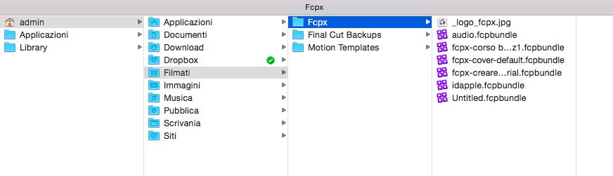 USAREFINALCUT.com - Final Cut Pro X : Da cartelle a librerie (da 10.0.9 a 10.1)