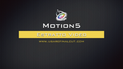 Motion 5 Estratto Video